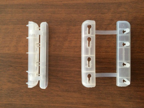 Зажим пластиковый крайний для соединения проволоки (ЗПП)